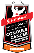 Road Hockey to Conquer Cancer Site Logo